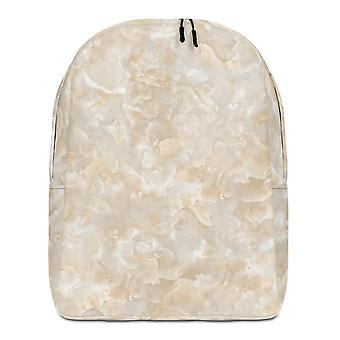 Backpack minimalist | gold marble