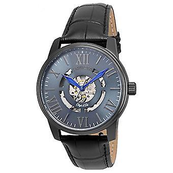 Invicta  Objet D Art 22602  Leather  Watch