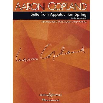 Suite from Appalachian Spring - For Violin and Piano - 9781423451846 B