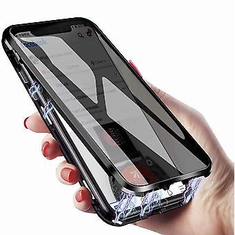 Mobiilikotelo kaksipuolinen karkaistu lasi Samsung Galaxy S8 Plus - musta