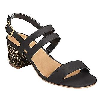 Aerosoles Womens Mid Size Open Toe Special Occasion Slingback Sandals