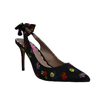 Betsey Johnson Womens Ginjer Pointed Toe SlingBack Classic Pumps