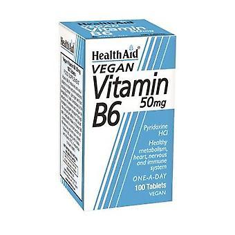 فيتامين B6 100 أقراص من 50mg