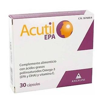Acutil Epa 30 capsules