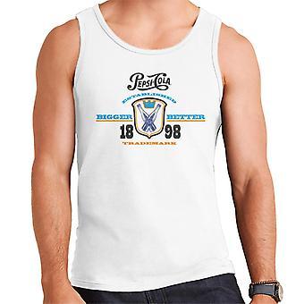 Pepsi Cola A créé 1898 Logo Men's Vest