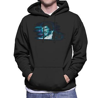 TV keer Pianist Liberace Blue statische mannen Hooded Sweatshirt
