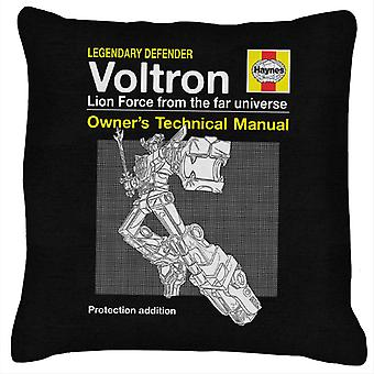 Voltron Defender Of The Universe Haynes Manual Cushion