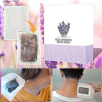 Neck Lymphatic Detox Patch Anti Swelling Herbal Pads To Improve Sleep Foot Patches Skin Care