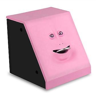 Ansikt Penger Spise Box Piggy Bank