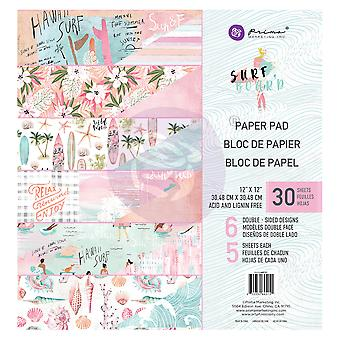 Prima Marketing Surfbräda 12x12 Tums Paper Pad
