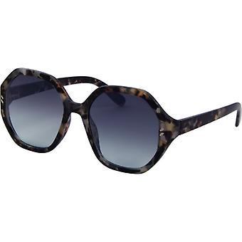 Sonnenbrille Damen  Chic  Kat. 3 geflammt grau (6445)