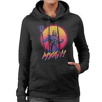 Skelett Myah Grayskull Frauen's Kapuzen Sweatshirt