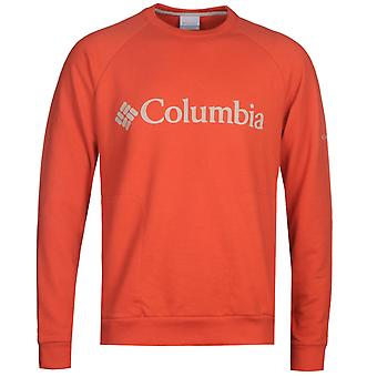 Columbia Orange Lodge Rundhals Sweatshirt
