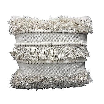 Spura Home Indian Traditional Comfortable Rows Gray Moroccan Style Pillows