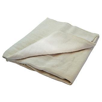 Faithfull Cotton Twill Polythene Backed Dust Sheet 3.6 x 2.8m FAIDSPC128N