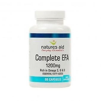 Auxílio de naturezas - cápsula completa EFA Omega 3,6 + 9 90