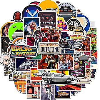 The Movie Back To The Future Stickers