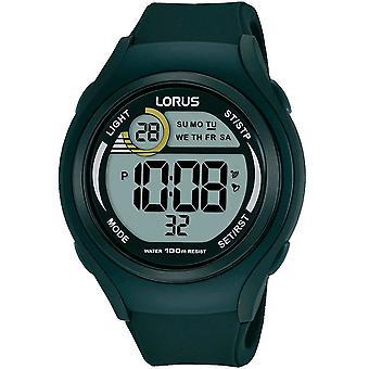 Lorus Mens Sports Digital Watch 100M Water Resistant (Model No. R2373LX9)