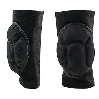 TRIXES Knee Supports Knee Pads for Work Knee Support for Running One Size Black