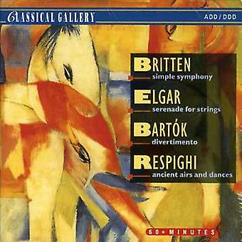 Britten Elgar Ect - Simple Symphony [CD] USA importeren