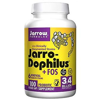 Jarrow פורמולות ג'רו-דופילוס + FOS, 100 כמוסות