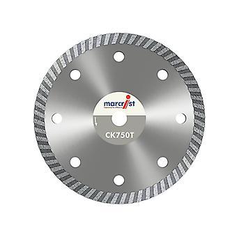 Marcrist CK750 Turbo Rim Diamond Blade Fast Cut 180 x 22.2mm MRCCK750T180