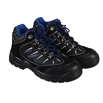 Dickies Storm Super Safety Hiker Black/Blue Boots UK 6 Euro 40 DICSTORM6B