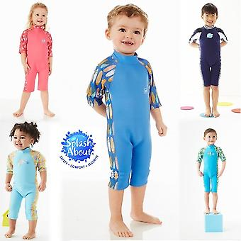 Splash about unisex-baby garden birds uv sun and sea wetsuit, 1-2 years