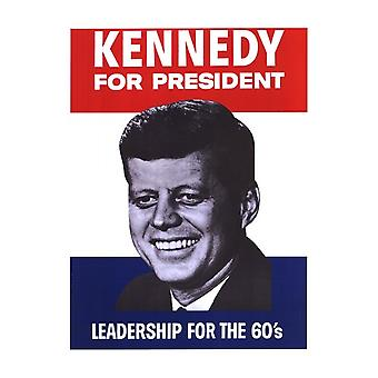 Kennedy For President Movie Poster (11 x 17)