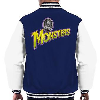 Universal Studios Monsters Home Of The Original Men's Varsity Jacket