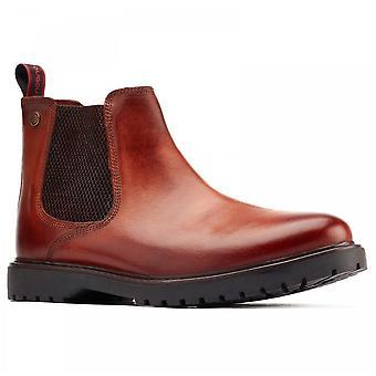 Base London Anvil Tan Bovine Leather Upper Chelsea Boots