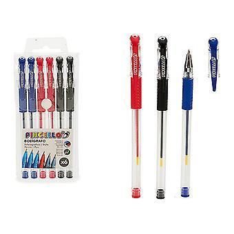 Penna (6 stycken) (1,5 x 15 x 7 cm)