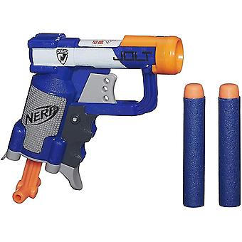 Nerf a0707as10 n-strike elite jolt blaster, blue, standard standard packaging