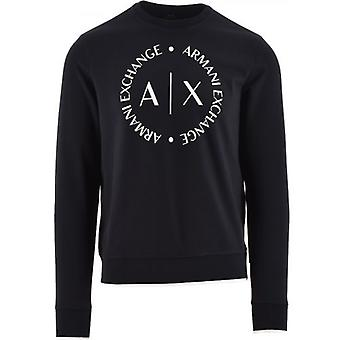 Sweat-shirt Armani Exchange Navy Logo