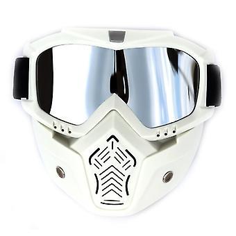 Occhiali da sci all'aperto, maschera da snowboard antiappannamento