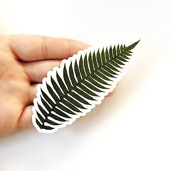 Fern Leaf Klistremerke - Antikk bilde