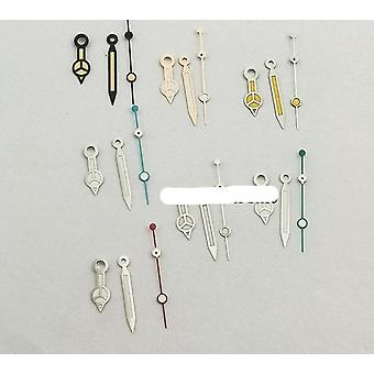Regarder Hands Set Mod For Nh35 Nh36 Style Silver/gold/rose Gold Hands Green