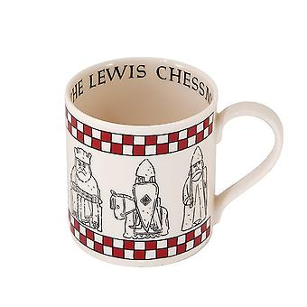 The Lewis Chessmen Fine Bone China Mug