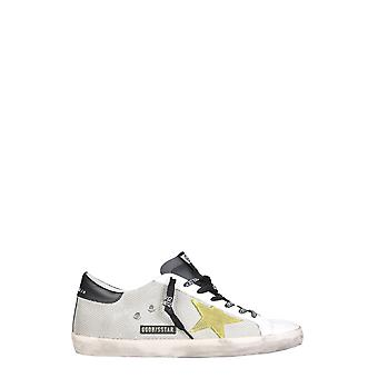 Golden Goose Gmf00101f00034580305 Men's Silver Polyester Sneakers