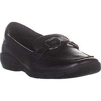 Easy Spirit Women's Shoes Avienta Leather Closed Toe Loafers