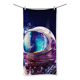 The other night beach towel