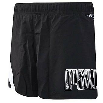 بوما No 1 شعار السباحة خفيفة الوزن السباحة عادي أسود أبيض قصير 509679 01 A1E