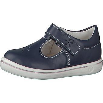 RICOSTA Velcro T Bar Chaussure à semelle blanche