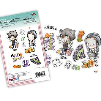 Polkadoodles Happy Halloween Clear Stamps