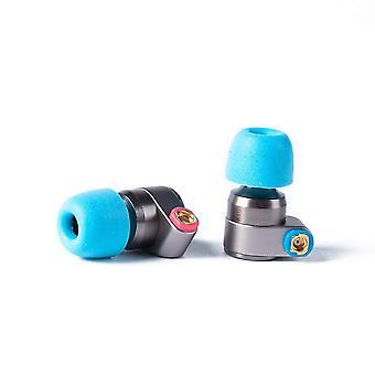 Tin audio t2 in ear headphone dual dynamic driver 2dd neutral sounding iem in ear monitor, balance s
