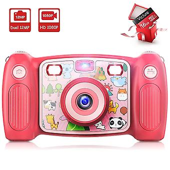 Victure kids camera digital rechargeable selfie action camera 1080p hd 12mp with 2 inch lcd display