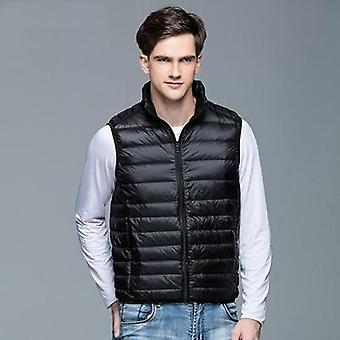 Duck Down Vest, Sleeveless Jacket