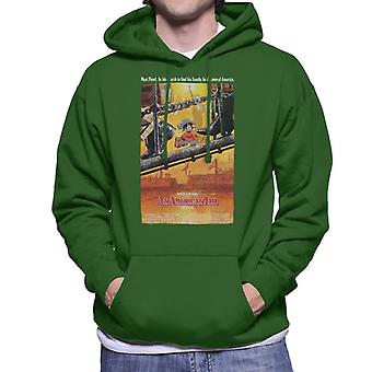 An American Tail Theatrical Poster Men's Hooded Sweatshirt
