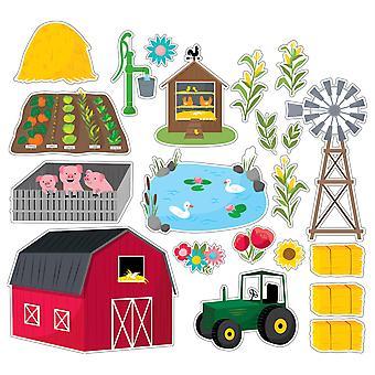 Farm Freunde Bauernhof Spaß Bulletin Board Set