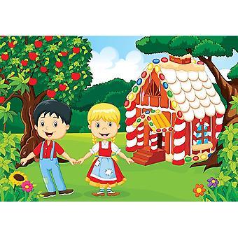Fondo de pantalla Mural Hansel y Gretel (45971